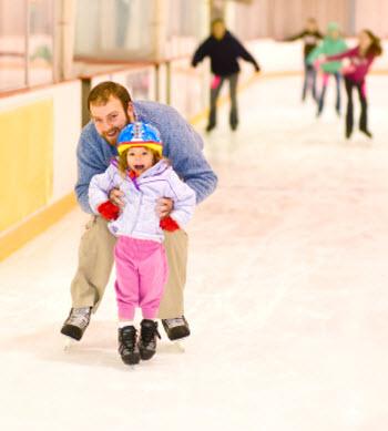 اسکیت روی یخ اموزش تخصصی اسکیت
